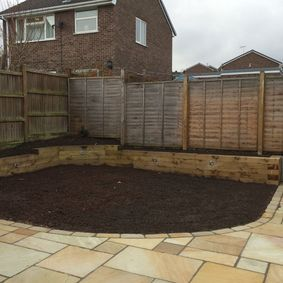 Garden overhaul work done by our skilled team